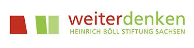 Logo Weiterdenken: Heinrich-Böll-Stiftung Sachsen
