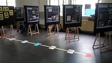 Foto Ausstellung NSU Tribunal