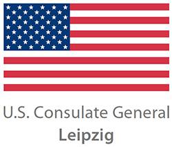 Logo Amerikanisches Generalkonsulat Leipzig