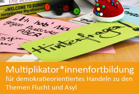 Foto Faltblatt Fortbildung