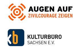 Logo Augenauf e.V. und Kulturbüro Sachsen e.V.