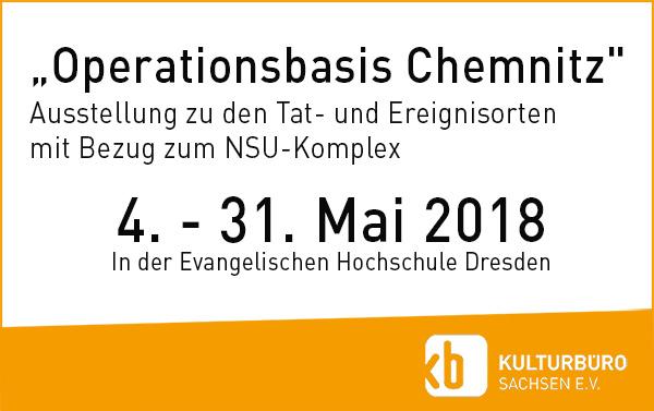 Ausstellung Operationsbasis Chemnitz