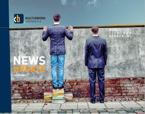 Cover des Newsletters Ausgebe 7 des Kulturbüro Sachsen