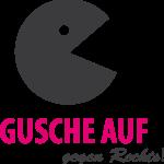 Logo Gusche auf gegen Rechts