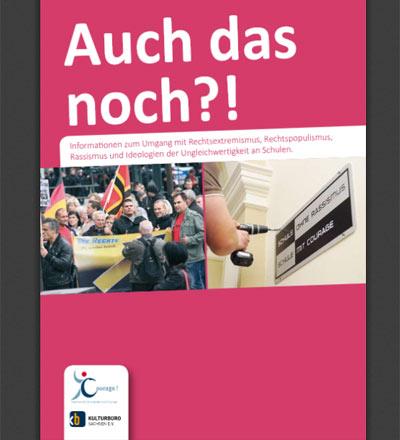 """Cover Broschüre """"Auch das noch"""""""