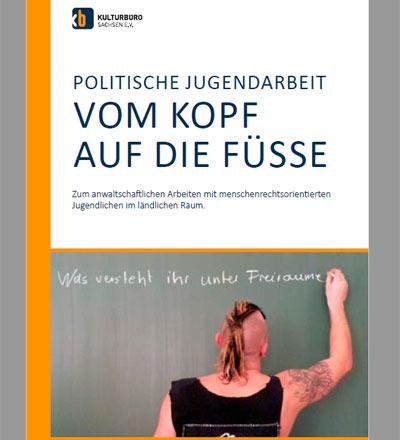 """Cover Broschüre """"Vom Kopf auf die Füsse"""""""