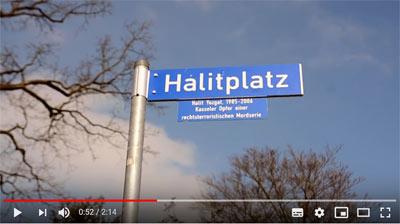 Ausschnitt aus Film, Halitplatz in Kassel