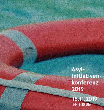 Programm Asyl-Initiativen-Konferenz 2019