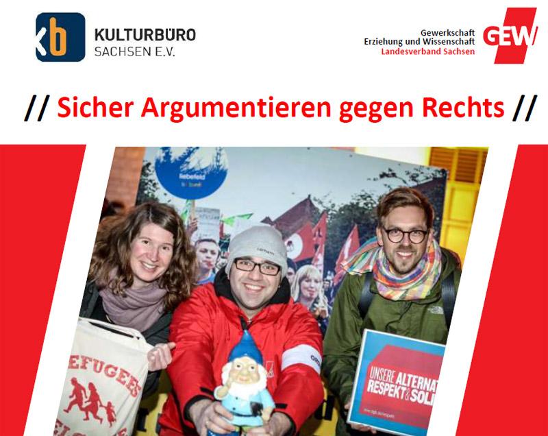 Cover Workshopreihe zum Umgang mit Rechtspopulismus und Neonazismus - März-Juli 2020