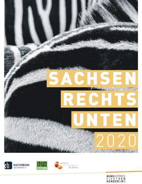 """Cover """"Sachsen rechts unten"""" 20202"""