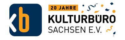 Logo Kulturbüro Sachsen e.V., 20 Jahre KBS