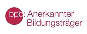 Anerkannter Bildungsträger der Bundeszentrale für politische Bildung (bpb)
